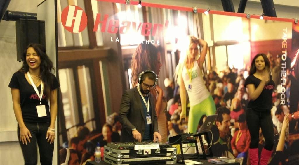 DJ Tom Hastings - Heavenly Ski & Snowboard Show - Earls Court - Storm DJs