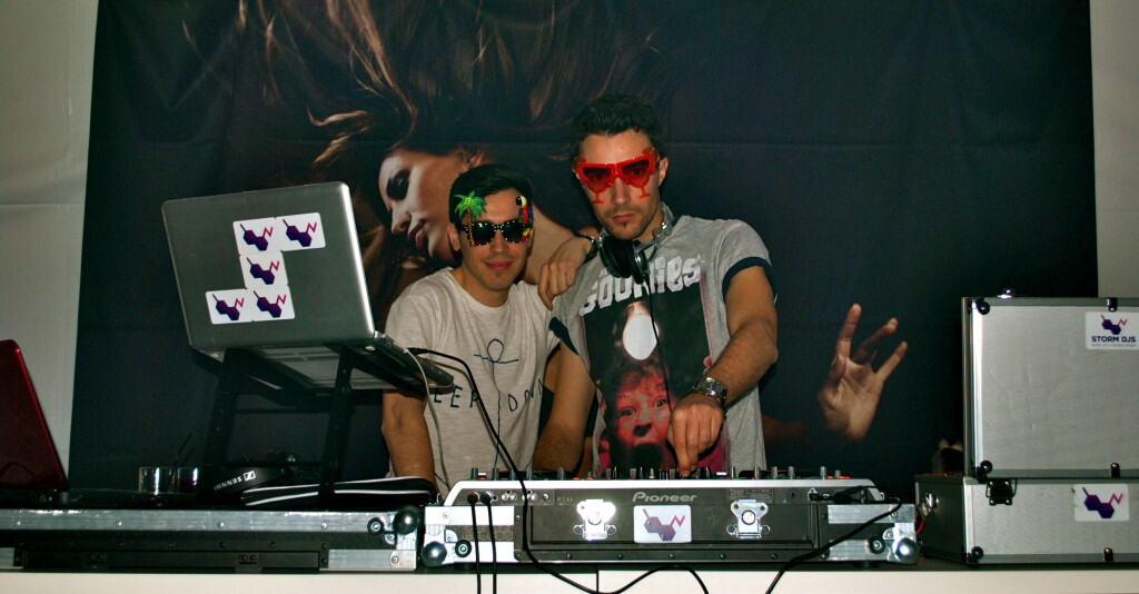 Glu and Billy Gonzalez - Storm DJs