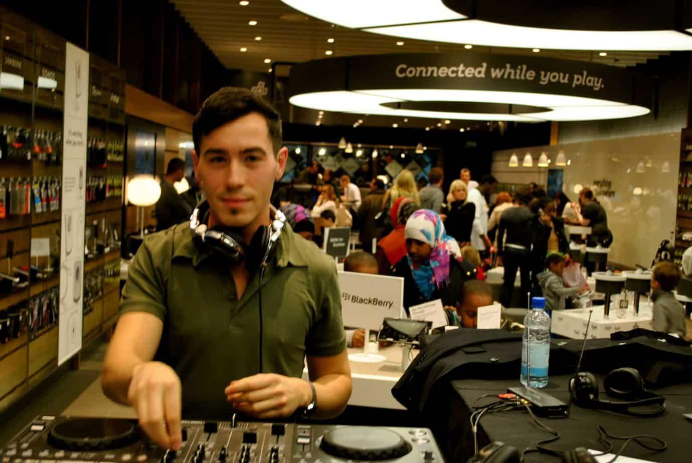 Storm DJs - in-store DJs hire - Billy Gonzalez