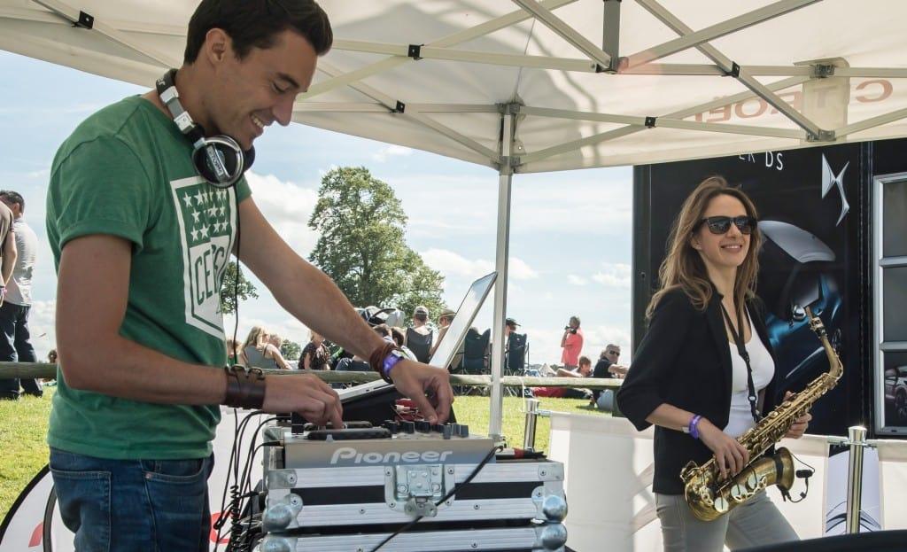 DJ Glu Sound & Anna Kirby - CarFest - Storm DJs