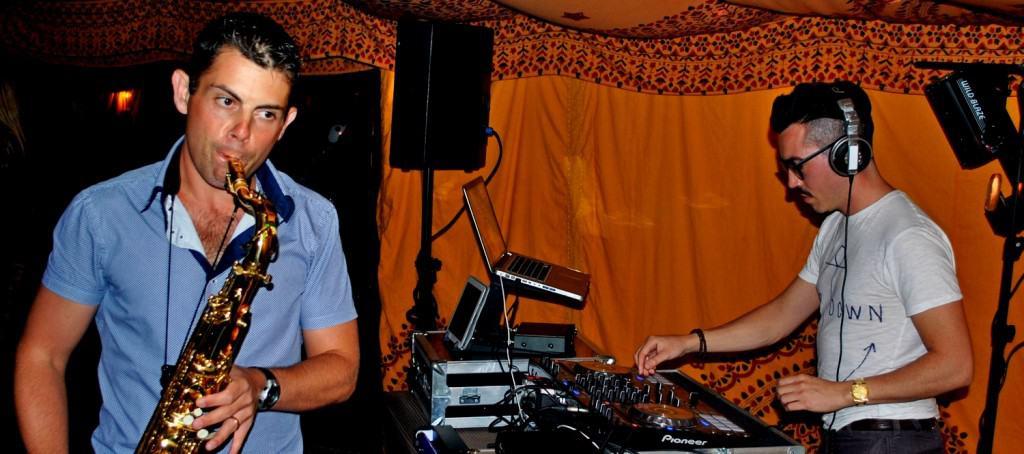 Birthday DJ Hire with Saxophonist - Storm DJs
