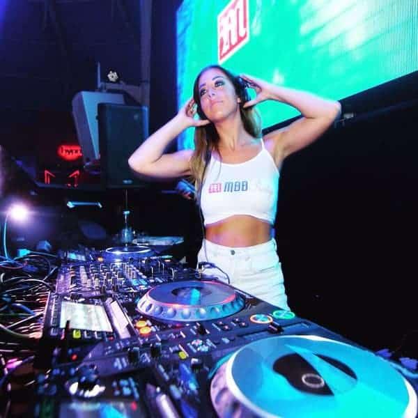 DJ Chloe Bodimeade - Profile 5- DJ Hire Agency - Storm DJs