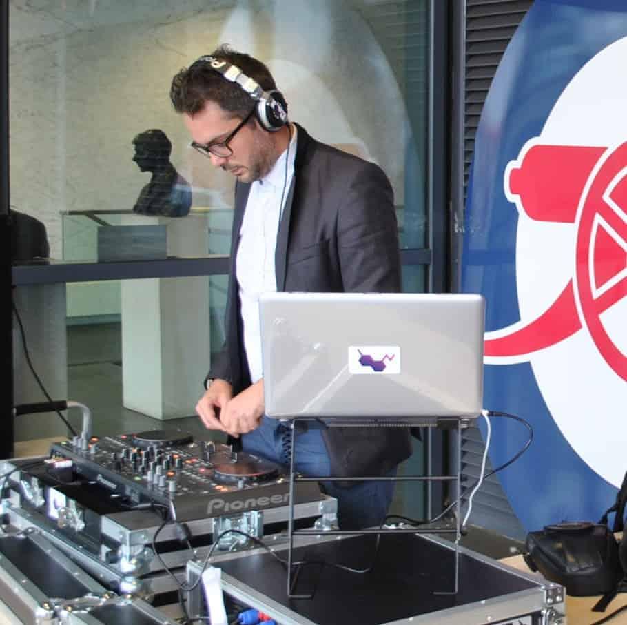 DJ Tom Hastings @ Arsenal Emirates Stadium