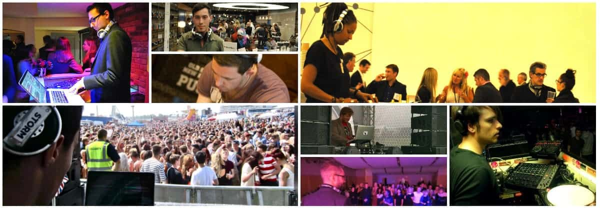 Storm DJs London - DJ Hire - Bars Clubs Festivals Corporate and more