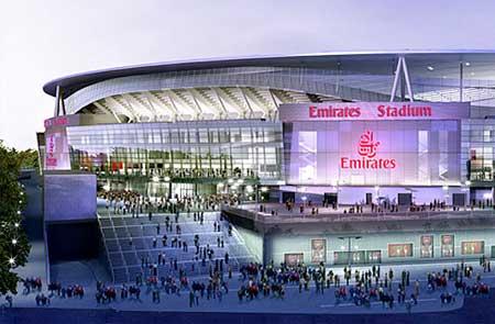 Storm DJs Arsenal Emirates Stadium