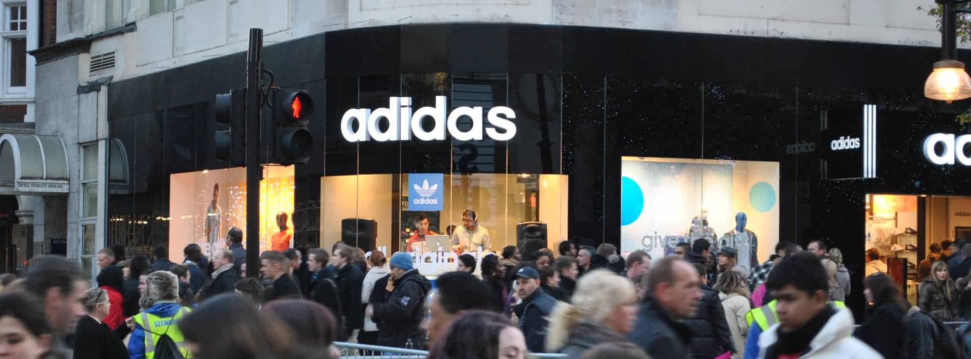 Adidas London - Storm DJs - DJ hire