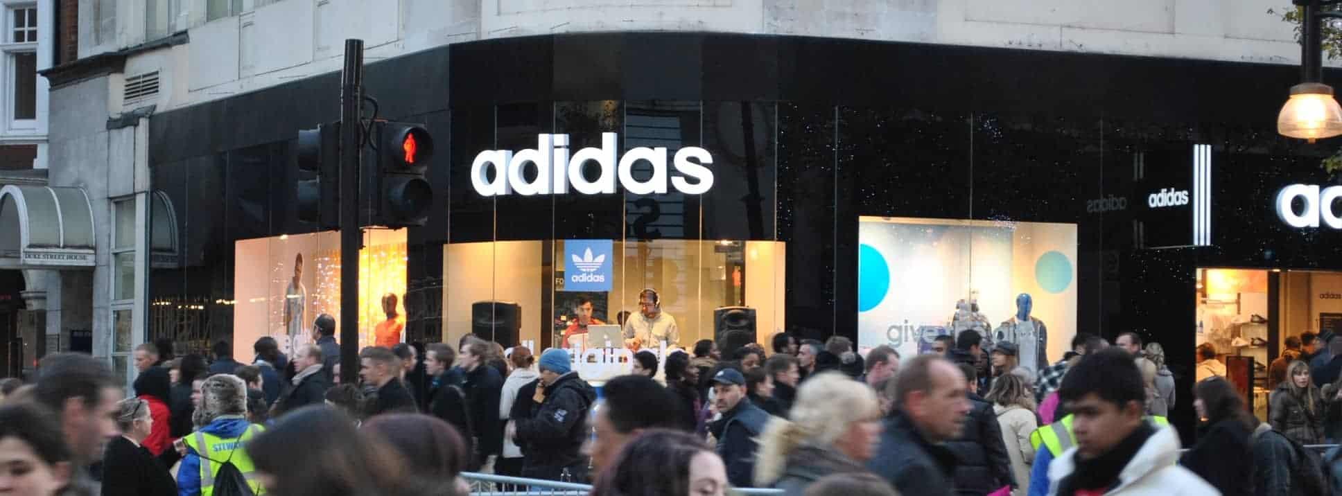 Adidas London - Storm DJs - DJ hire