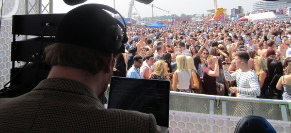 DJ Adam Wood @ The Epsom Derby 2012