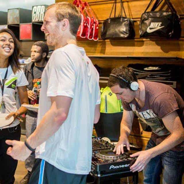Nike Store Cardiff - Storm DJs