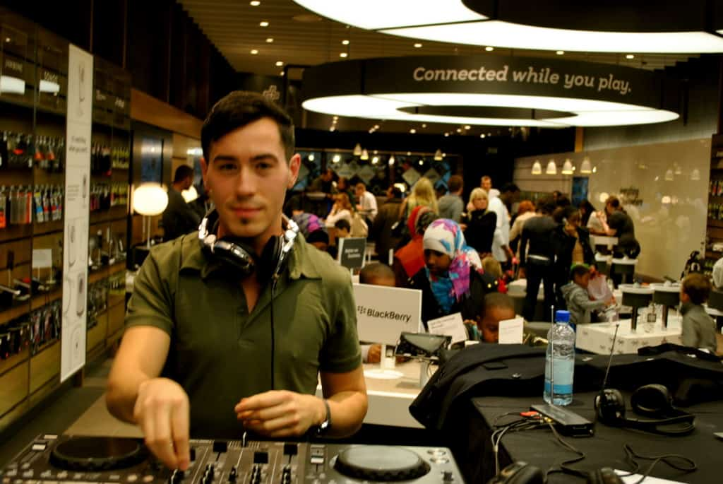 Storm DJs - in-store DJs hire - Billy Gonzalez