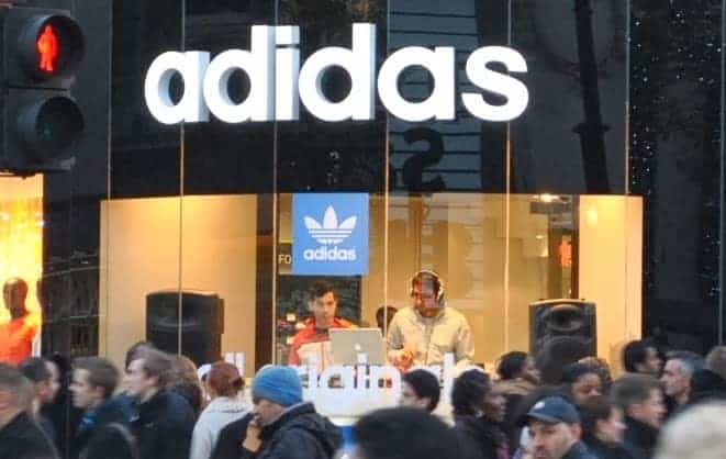 DJ Billy Gonzalez & ReLux - Adidas London - Storm DJs