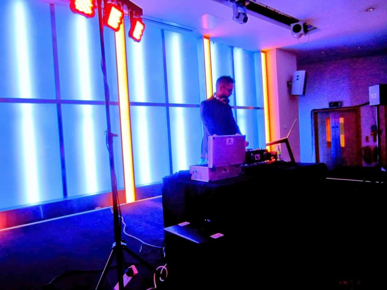 DJ Tom Hastings - London Hotel Event - Storm DJs