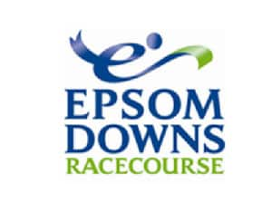 Epsom Downs logo - Storm DJs