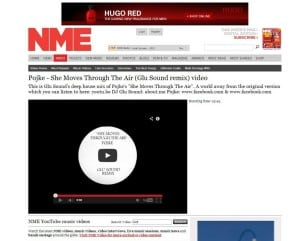 Glu Sound featured on NME - Pojke