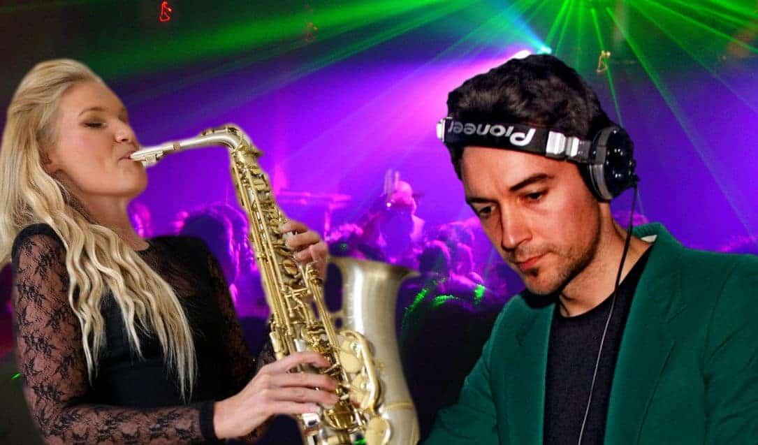 DJ and Saxophonist - DJ hire London - Storm DJs