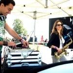 CarFest DJ and Saxophonist - Citroen - Storm DJs hire