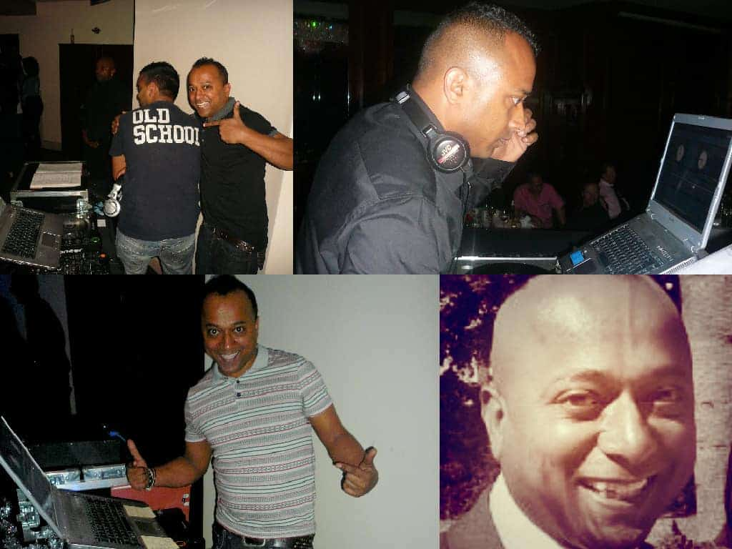 DJ Raj collage - storm djs