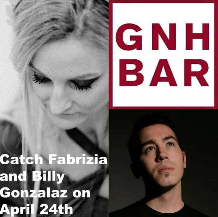 Billy Gonzalez & Fabrizia at GNH Bar London - Storm DJs