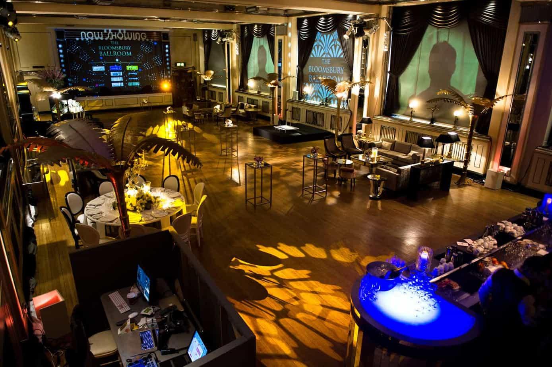 Bloomsbury Ballroom - Storm DJs London - DJ Hire