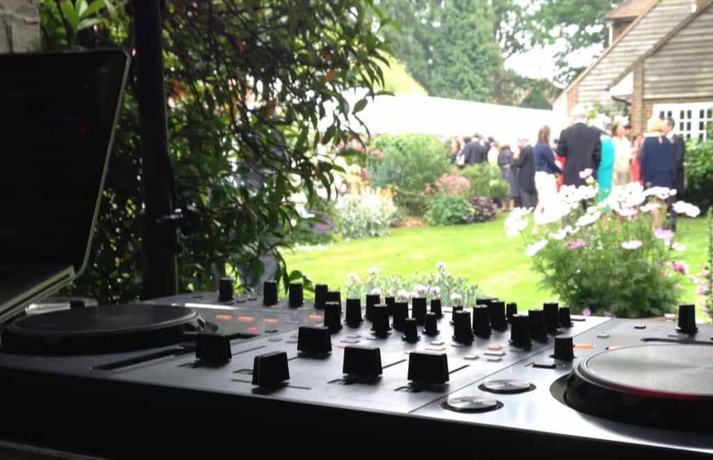 Storm DJs - garden party - DJ hire - London