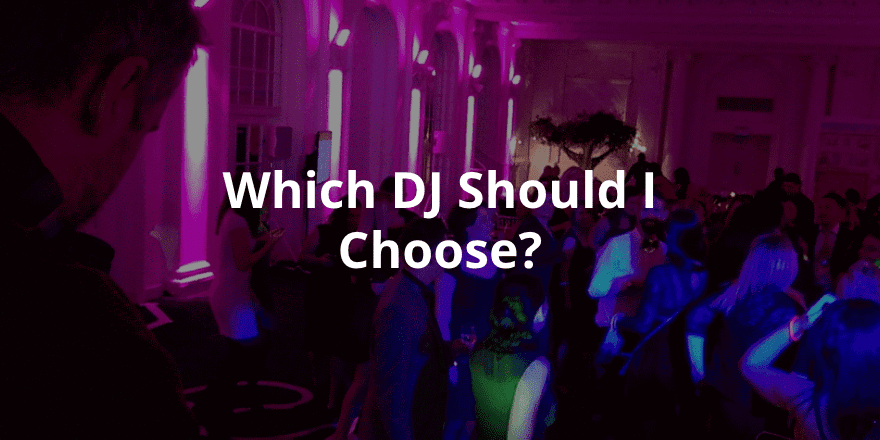 Which DJ should I choose at the Bluewater Wedding Fair 2016
