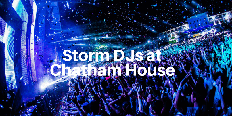 Chatham House - DJ hire - Storm DJs