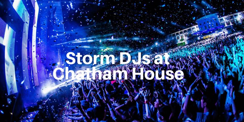 Chatham House - DJ hire - Storm DJs