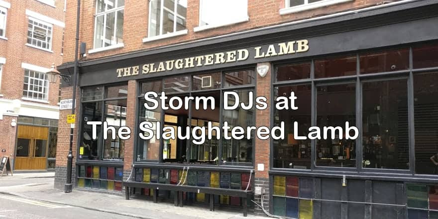 Storm Djs - The Slaughtered Lamb Events- DJ Hire Agency