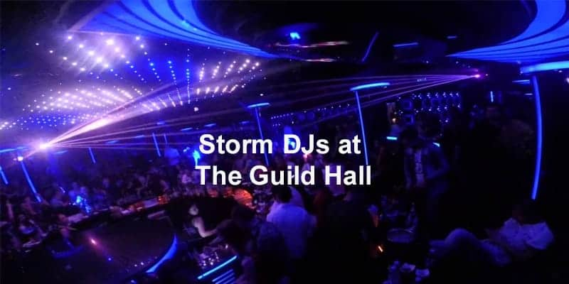 Storm Djs - The Guild Hall - DJ Hire Agency