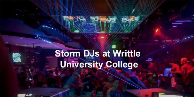 Storm Djs - Writtle University College - DJ Hire Agency