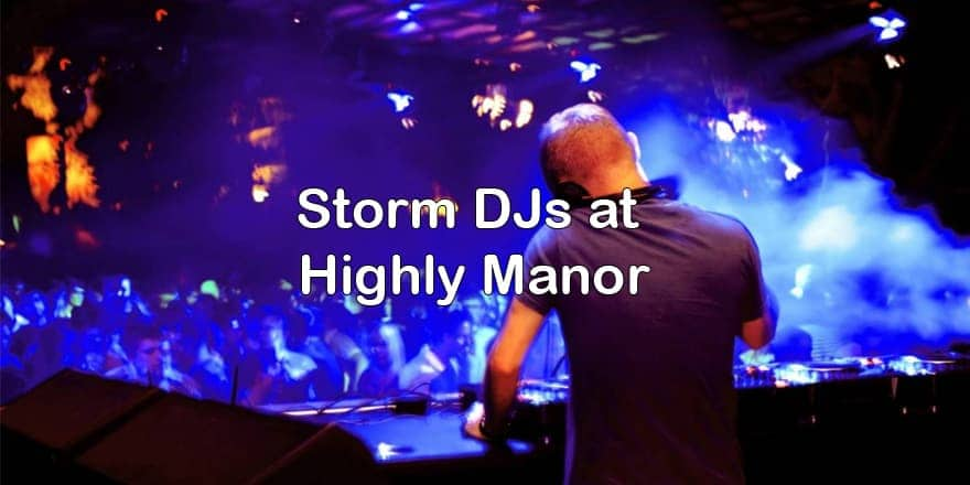 Storm Djs - Highley Manor Events - DJ Hire Agency