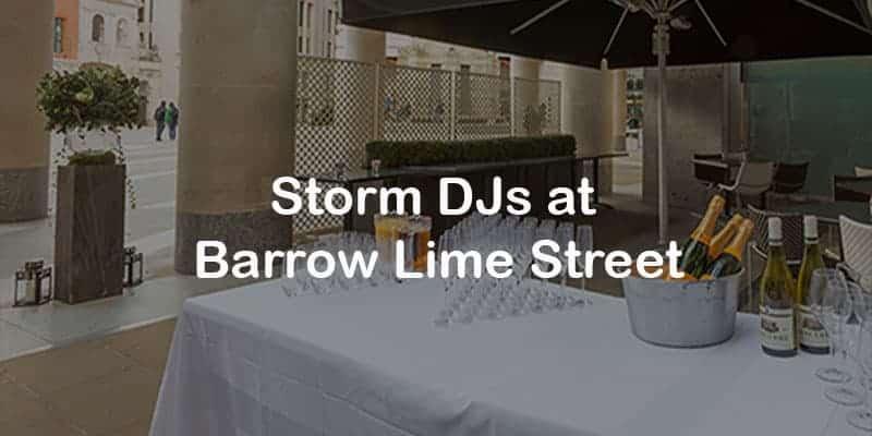 Storm Djs - Barrow Lime Street - DJ Hire Agency