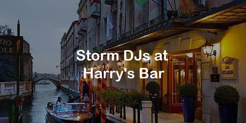 Storm Djs - Harry's Bar - DJ Hire Agency