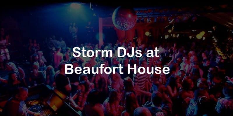 Storm Djs - Beaufort House - DJ Hire Agency