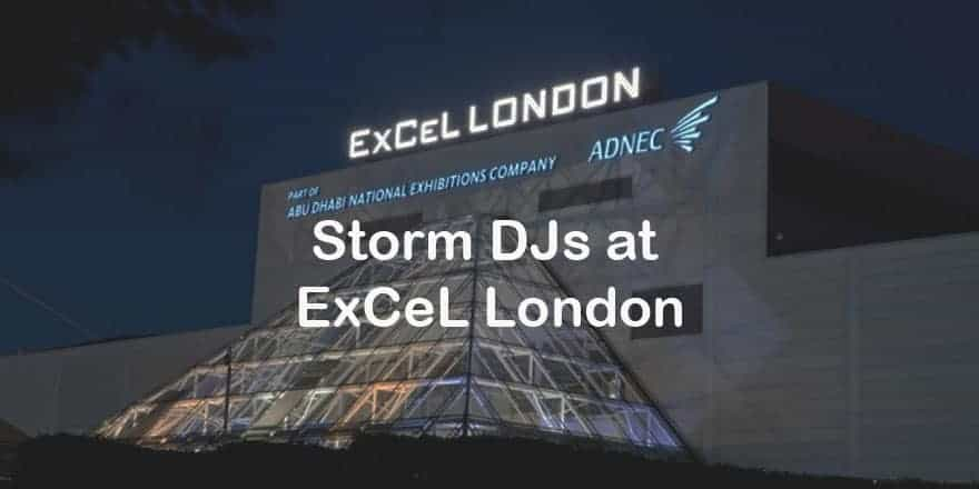 Storm Djs - ExCeL London - DJ Hire Agency