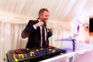 DJ Tom Hastings - Storm DJs - weddings