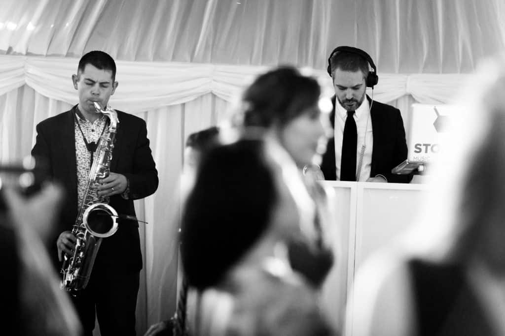 Saxophonist with DJ - Weddings - Paul Dove