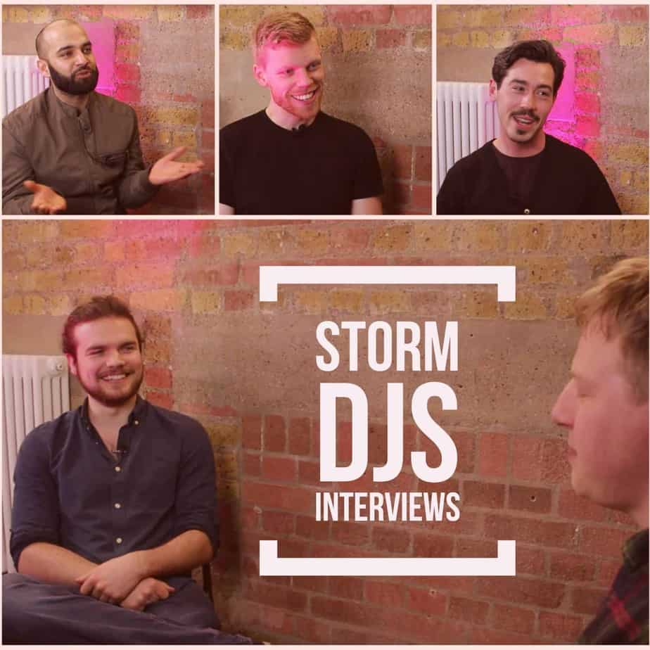 Storm DJs Interviews at Hire Space HQ London
