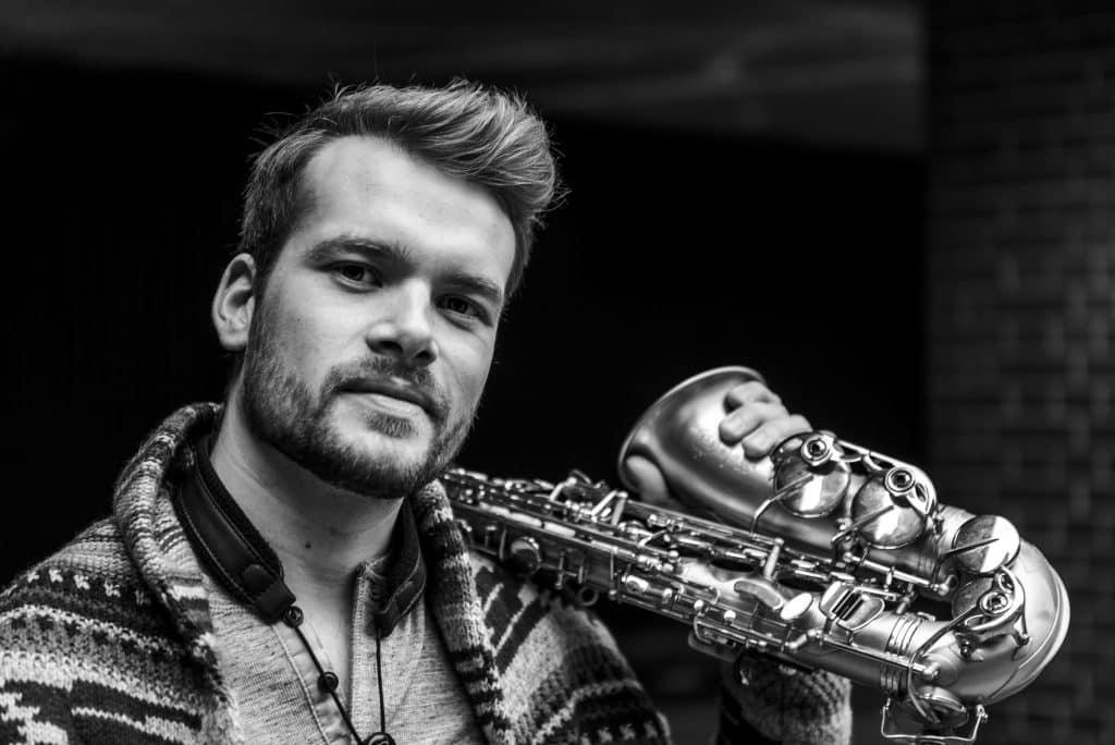 Alex Chadwick - saxophonist for DJs 2