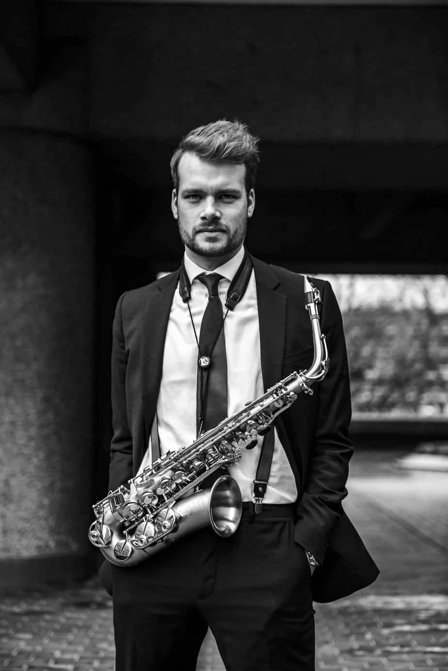 Alex Chadwick - saxophonist for DJs 3