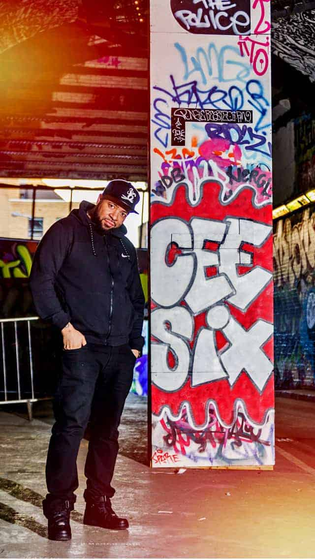 DJ CeeSix - Storm DJs London hip-hop r&b 3