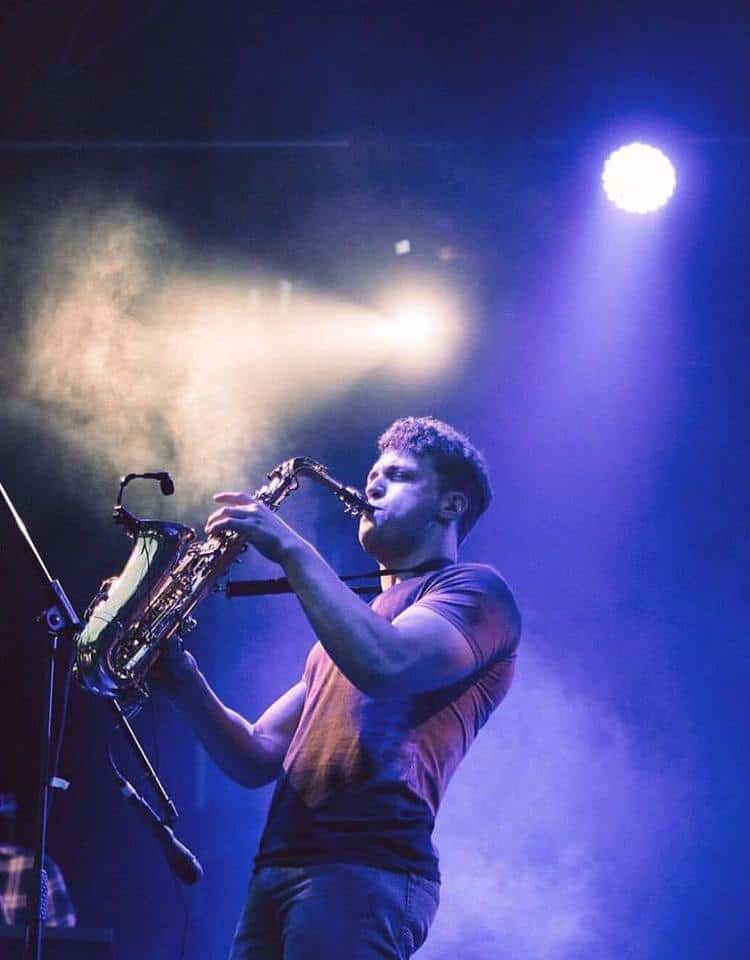 sam king saxophonist - storm djs 2
