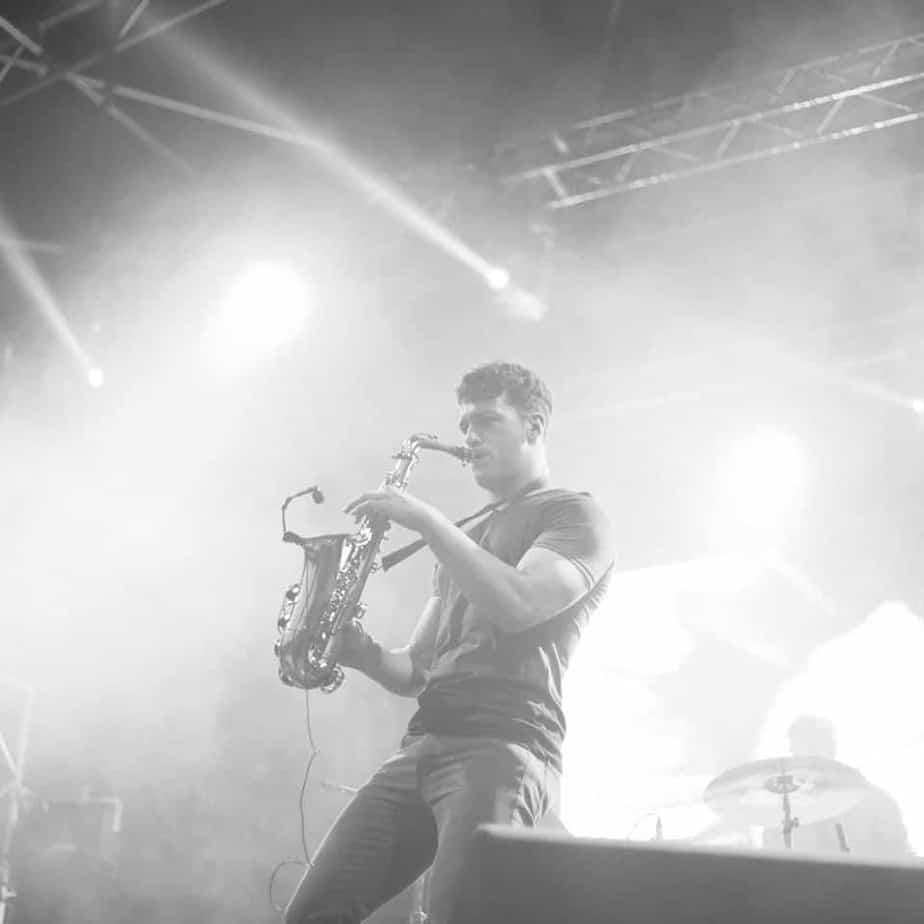 sam king saxophonist - storm djs