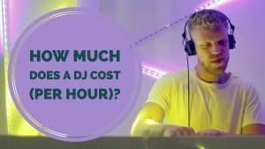 How much does it cost for a DJ per hour?