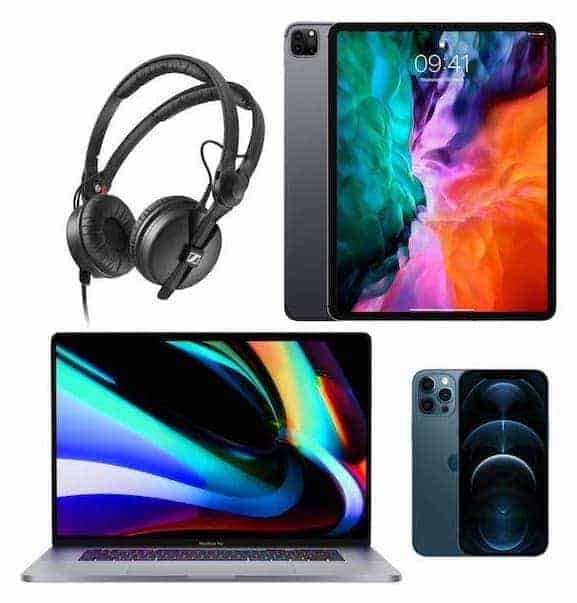 macbook pro ipad pro iphone 12 tech giveaway competition storm DJs
