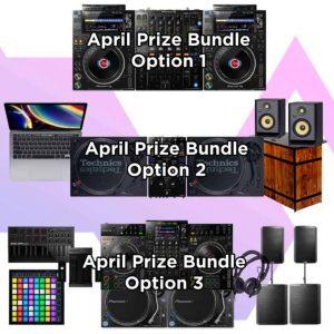 Storm DJs DJ Competition April 2021 - Prize Options