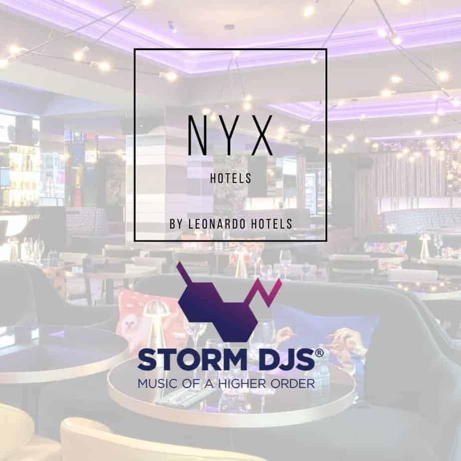 NYX Holborn Hotel - Storm DJs DJ Residency Launch 2021
