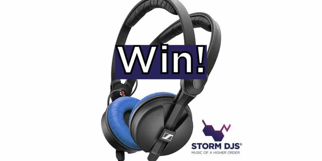 Win A Pair of Sennheiser HD25 DJ Headphones - Storm DJs Agency