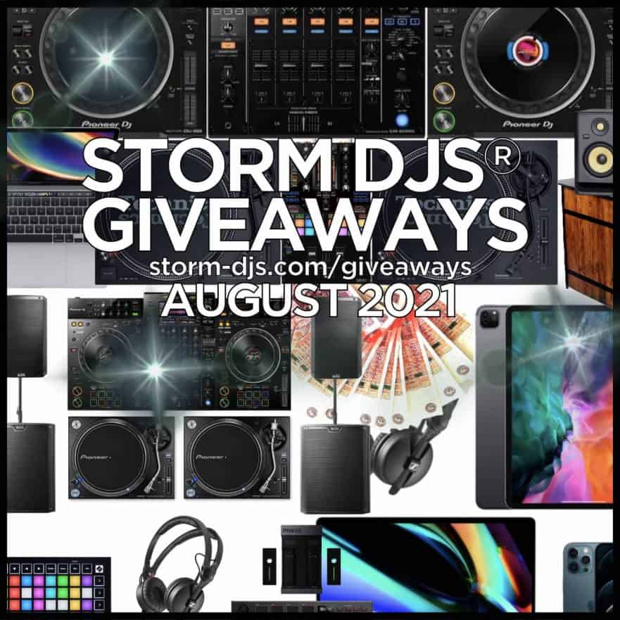 Storm DJs Win Pioneer CDJ3000 DJM900NXS2 XDJ-XZ Technics 1210 Mk7 and more Competition Giveaway August
